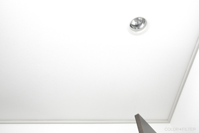 ホワイトな壁と天井