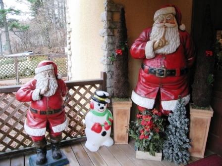 クリスマスの森
