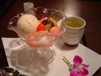 武蔵野茶房 桜あんみつ