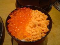 桐屋 ミニ鮭いくら丼