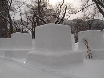 雪像1月31日(1日目)1