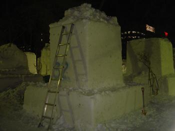 雪像1月31日(1日目)2