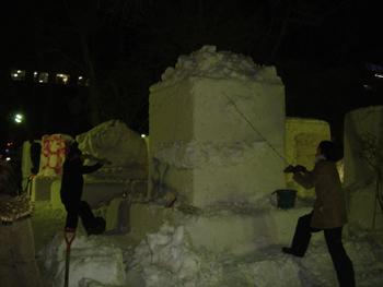 雪像1月31日(1日目)3