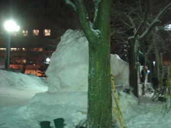 雪像2月1日(2日目)2
