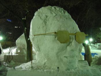 雪像2月3日(4日目)1