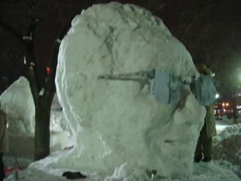 雪像2月3日(4日目)2