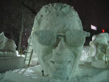 雪像2月3日(4日目)4