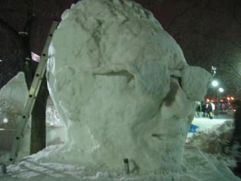 雪像2月3日(4日目)5