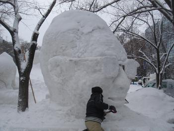 雪像2月4日(5日目)1