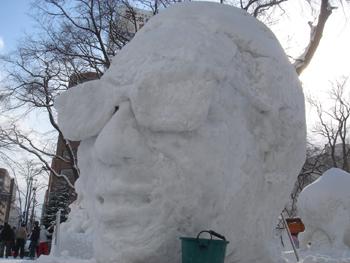 雪像2月4日(5日目)2