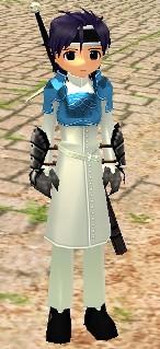 剣士服ですがナニカ?