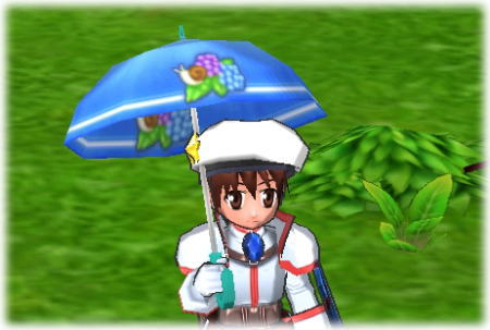 傘でた~^^