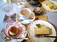 トタン屋根のケーキ屋 ア・ラモートのケーキセット