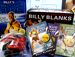 BILLY'S BOOT CAMP ELITE ALL-NEW!