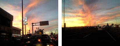 不思議な夕焼け01