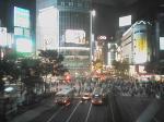 渋谷の夜景@写メ。