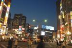 歌舞伎町より新宿副都心高層ビル群望む。@夜景