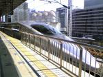 500系新幹線W9編成@写メ、帝都にて。