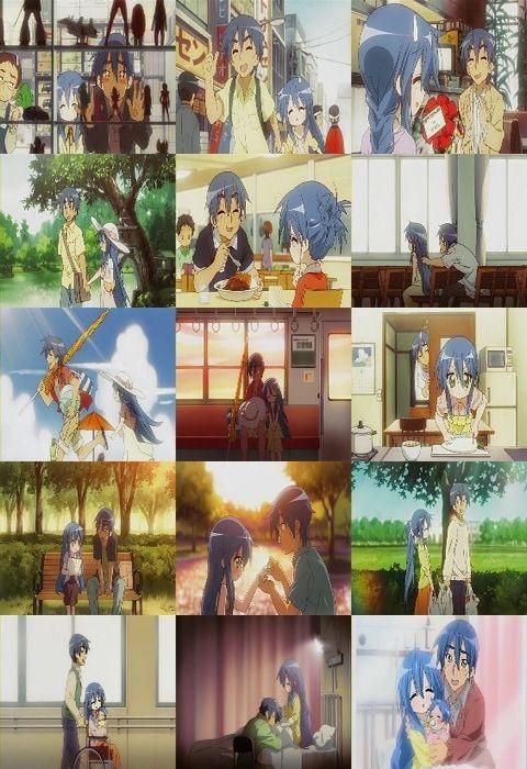 (アニメ) らき☆すた -Lucky Star- 第22話 「ここにある彼方」 006_s_s