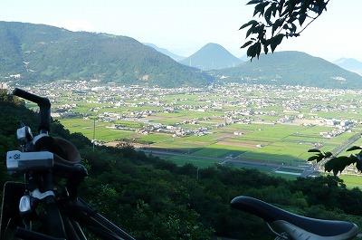 飯野山 + マイチャリ