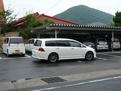 ○藤ちゃんの乗ってきた車