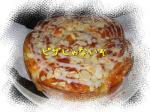 pizzaのようなシナモンロール