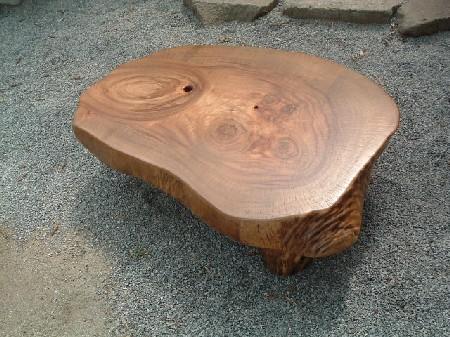 座卓、ローテーブル(天板厚み=110mm)