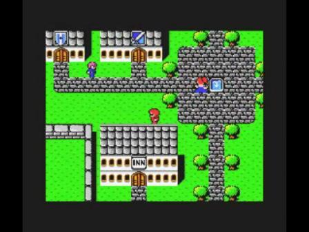 FINALFANTASY MSX版の映像