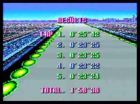 F-ZERO MUTU CITY 世界記録 1:58,38