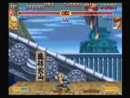 スト2 リュウ vs ケン