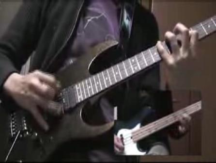 FF7 ギターでボス戦の曲(更に闘う者達)を演奏