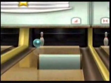 Wiiスポーツのボウリング