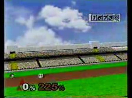 スマッシュブラザーズ ホムランコンテスト 9999,9M