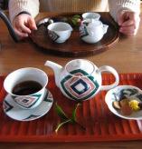九谷焼でお茶