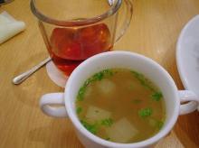 スープと紅茶