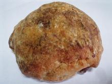 和栗と甘納豆のもちもちパン