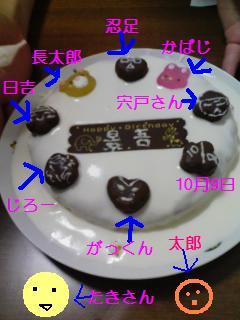 跡部様ケーキ
