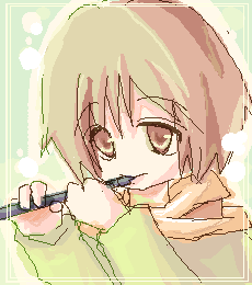 笛吹き少年