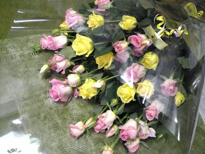 パバロティ・エミオ・ジュピターの花束