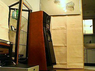 吸音カーテン右壁