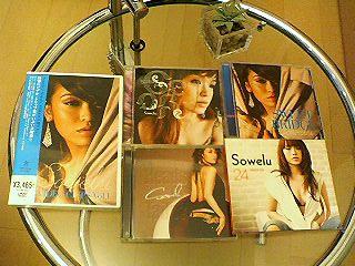 Sowelu DVD and CDs