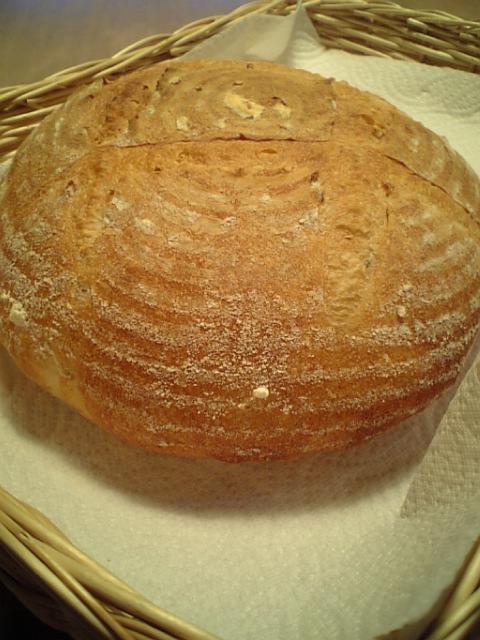 玄米酒粕酵母カンパーニュ2