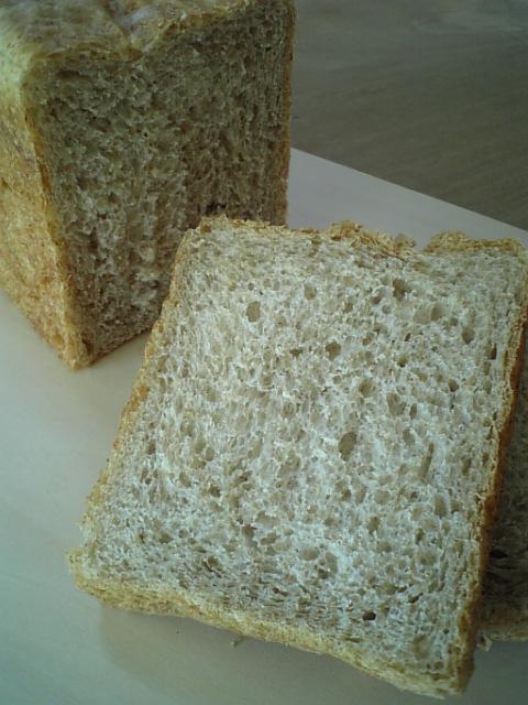 黒糖角食パン1