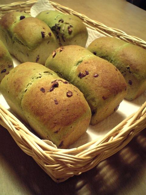 抹茶ミニ食パン1