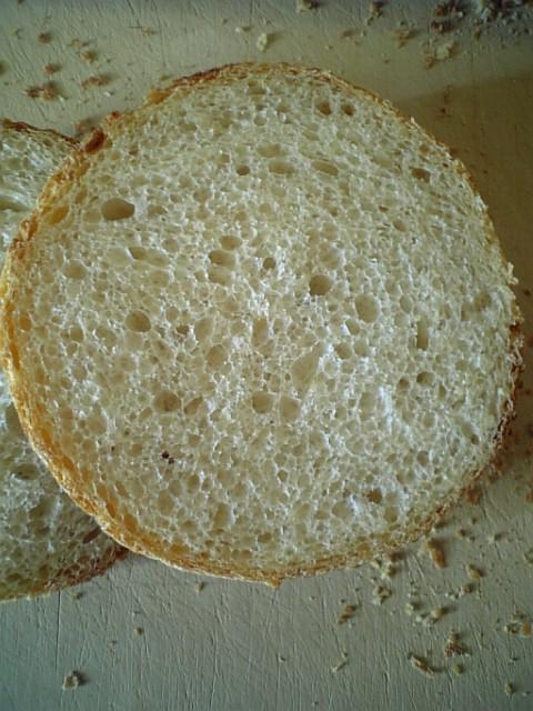 メッシュパン玄米酒粕酵母4