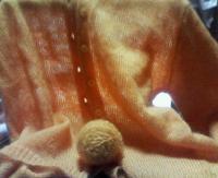 ゆず色毛糸