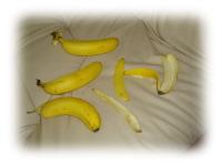 バナナの残骸。。