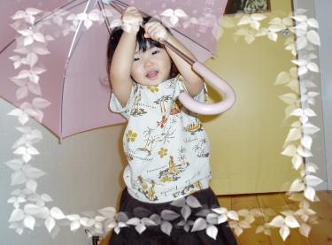傘も凶器の一つ…Danger!