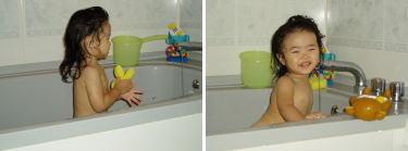 ミッフィーちゃんとお風呂♪