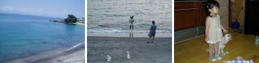 海はコワイのよ~。